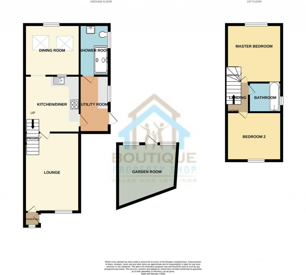 Floorplans For George Cartwright Close, Norton, Malton